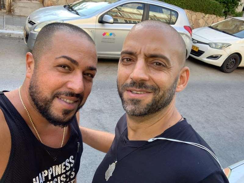 אורן רדה שרברב בתל אביב עם עידן רייכל